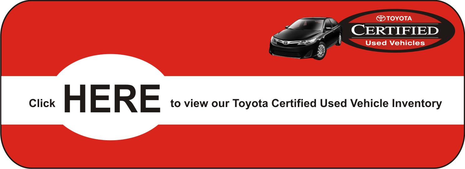 University Toyota Certified Hire